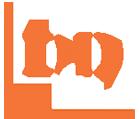 logo bianco arancione